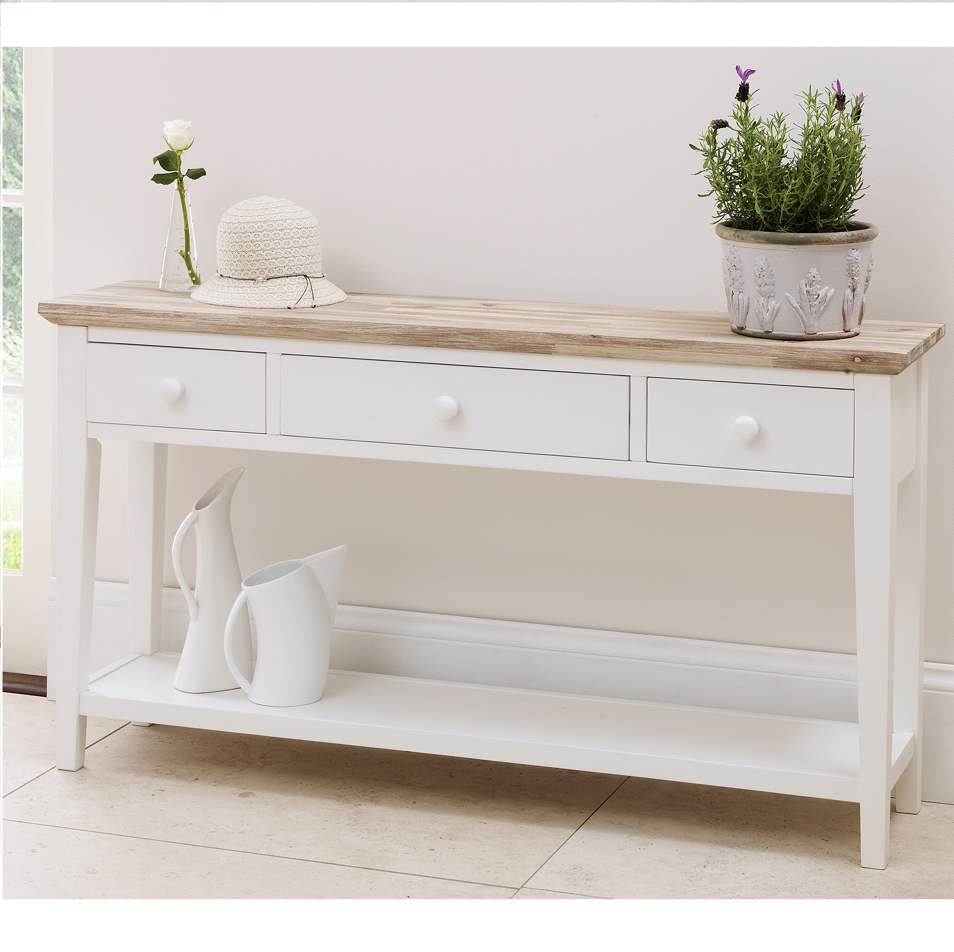 Console table decor ikea kingsley bate classic console table wayfair com online home store for Home decor stores utah county