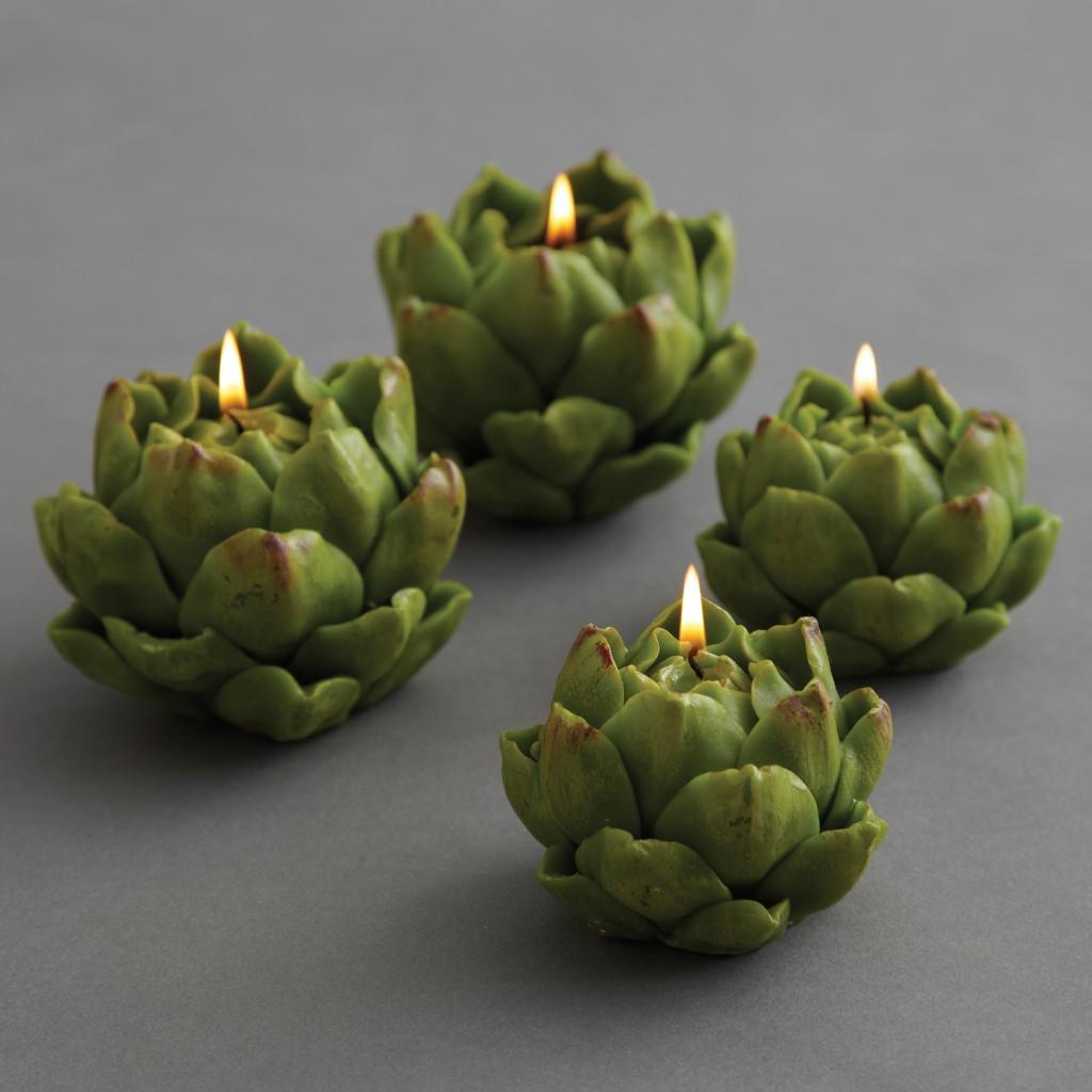 Artichoke Candles – Twos Co