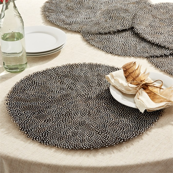 set_of_6_guinea_fowl_feather_fall_placemats