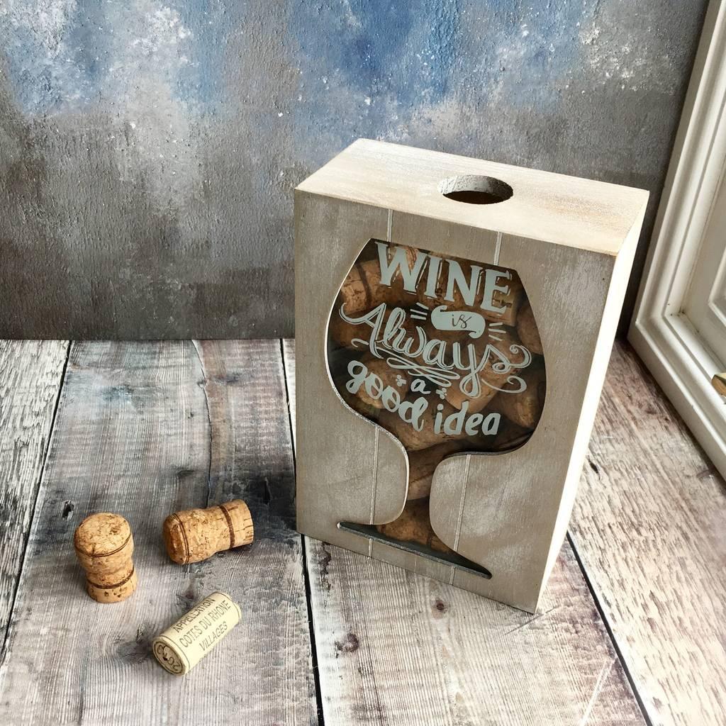 wine-cork-collector-box