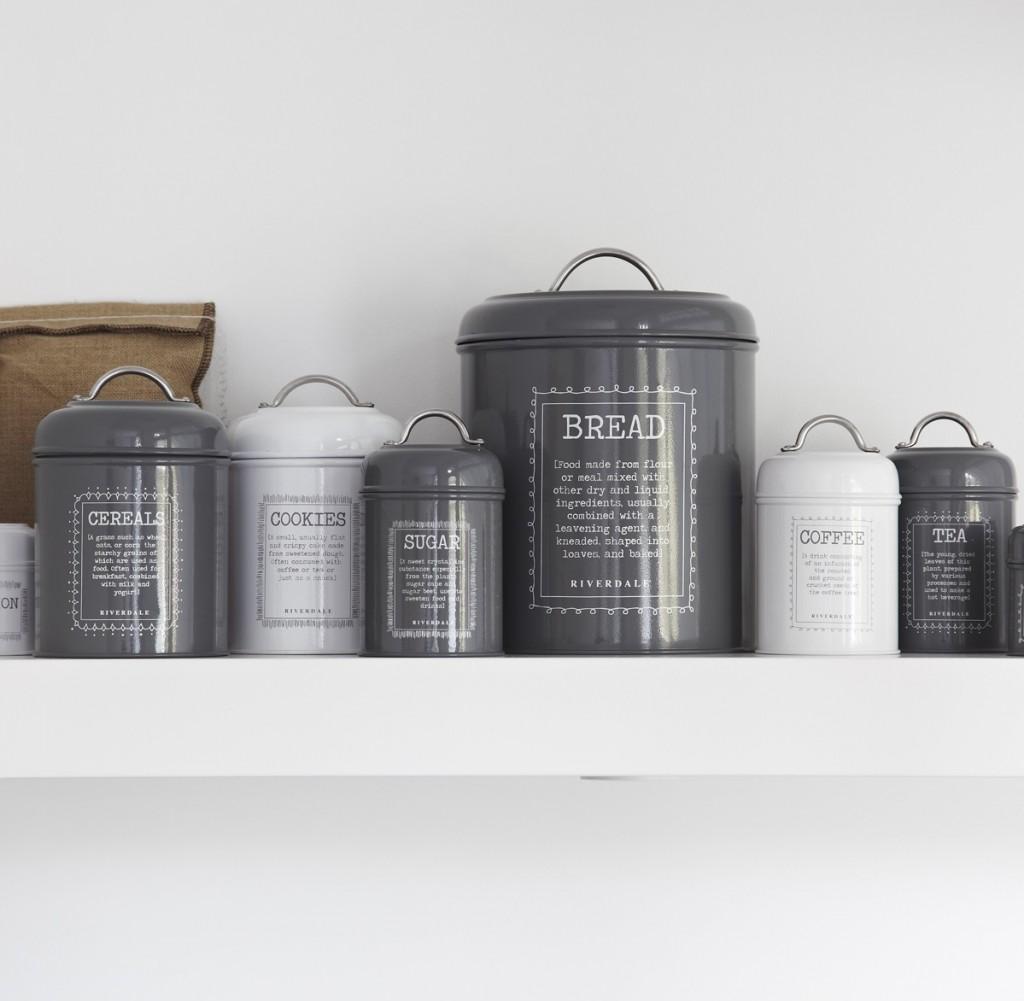 grey-and-white-vintage-kitchen-storage-jars