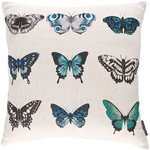 harlequin-blue-butterfly-cushion