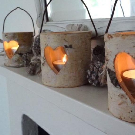 bark-heart-tealight-holders