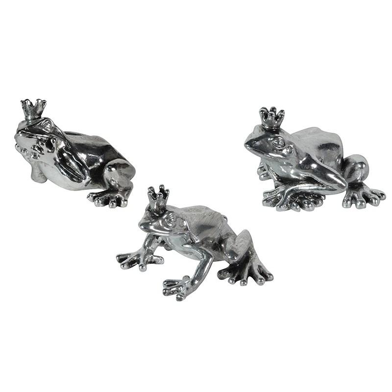 Silver Frog Prince Ornament Tutti Decor Ltd