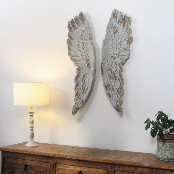 Angel wings wall art tutti decor ltd for Angel wings wall decoration uk