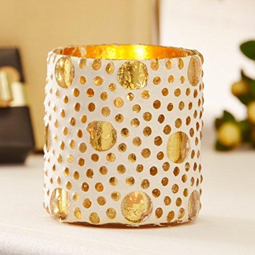 gold-dot-tealight-holder