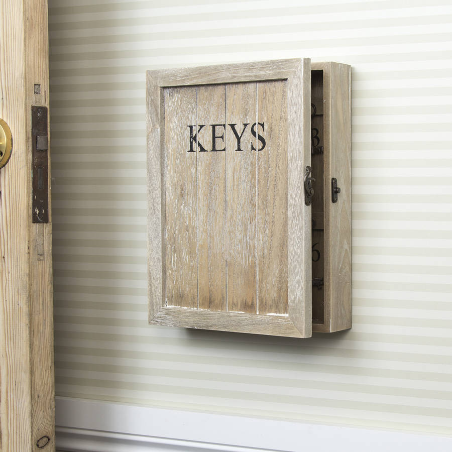 wooden-keys-storage-cupboard