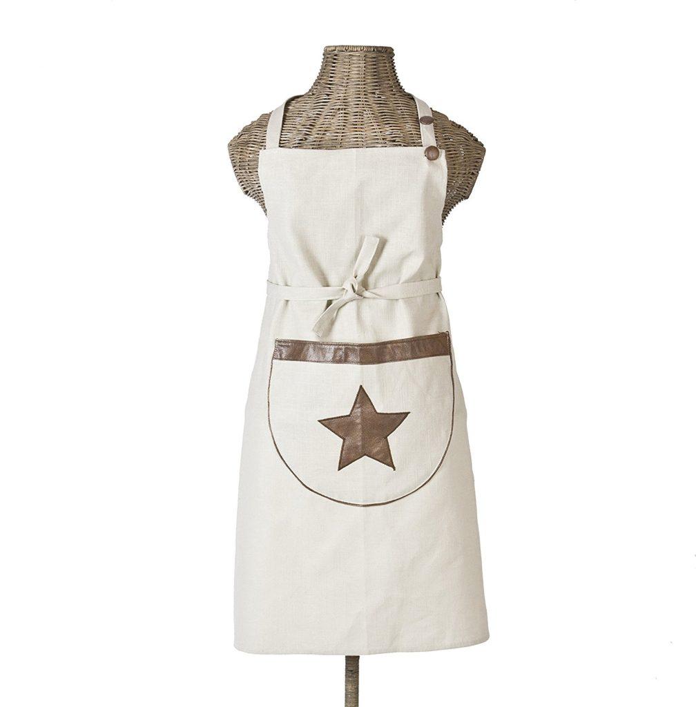leather star apron