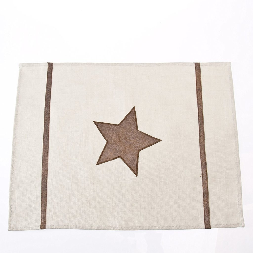 leather star placemats