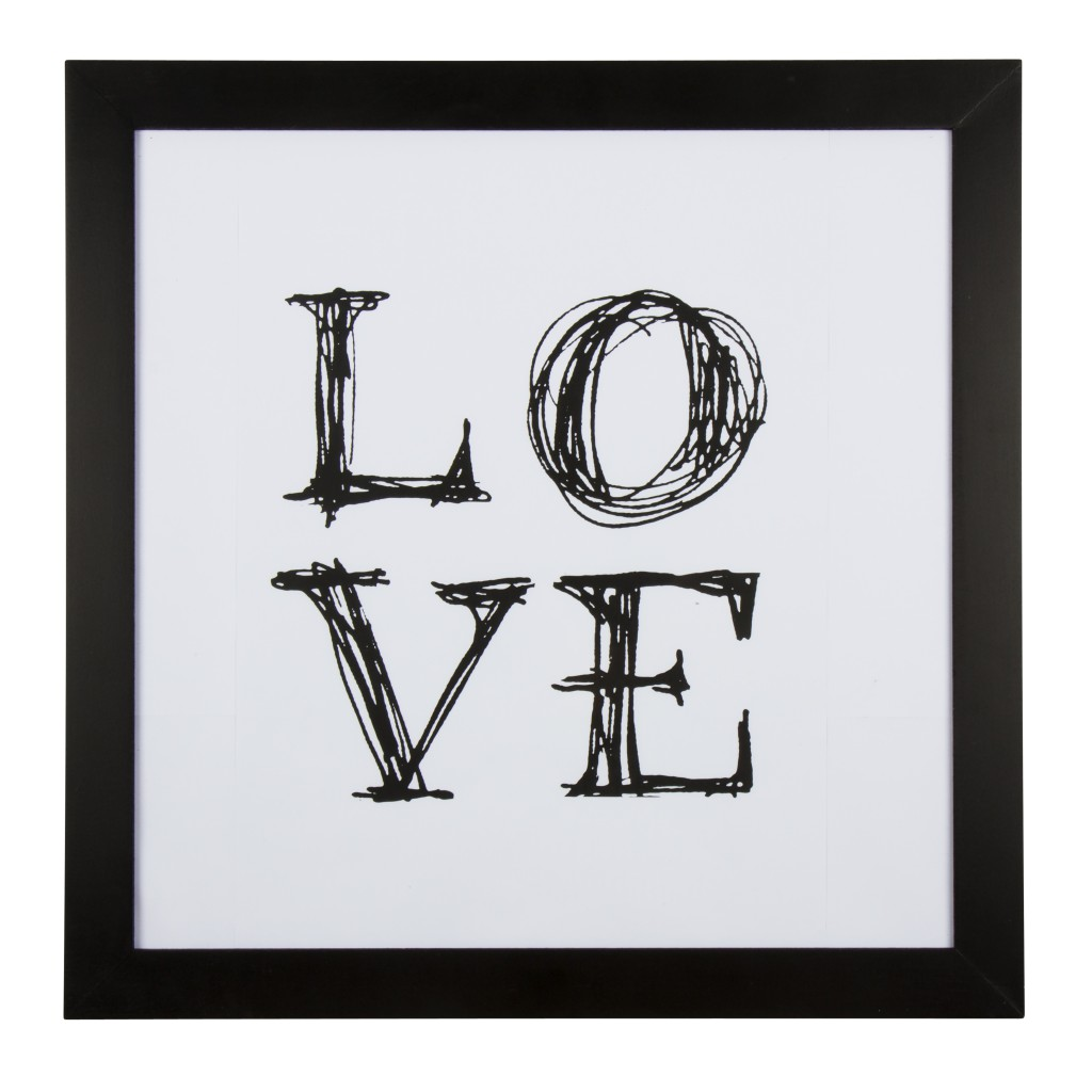 8874226890_Love_Framed_picture_black_white
