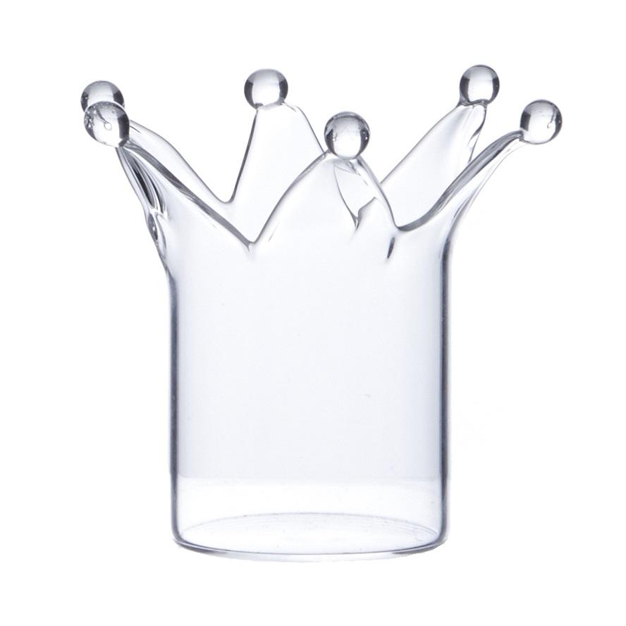 Set Of 2 Crown Tealight Holders Tutti Decor Ltd
