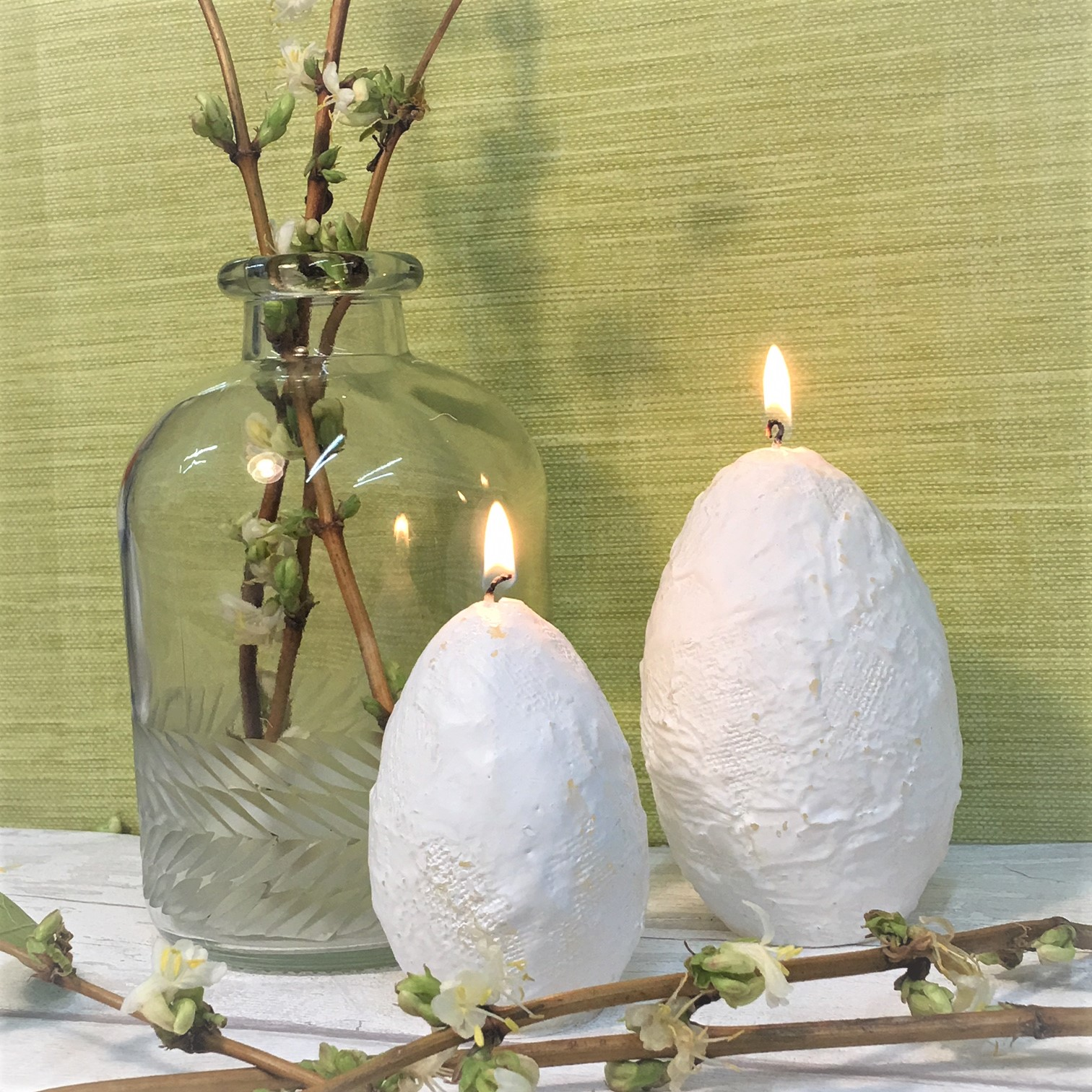 Lene bjerre large luxury easter egg candle ideal easter gift 12cm lene bjerre large luxury easter egg candle ideal easter gift 12cm 20 hours burn negle Image collections