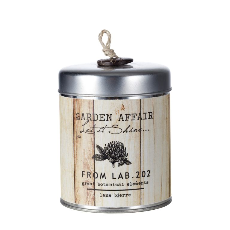 affair candle in tin