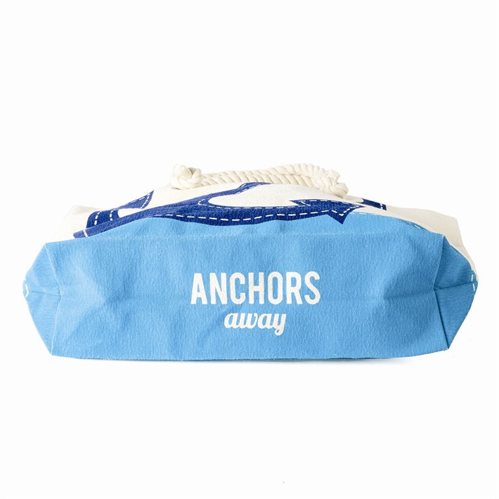 anchors away tote bag base