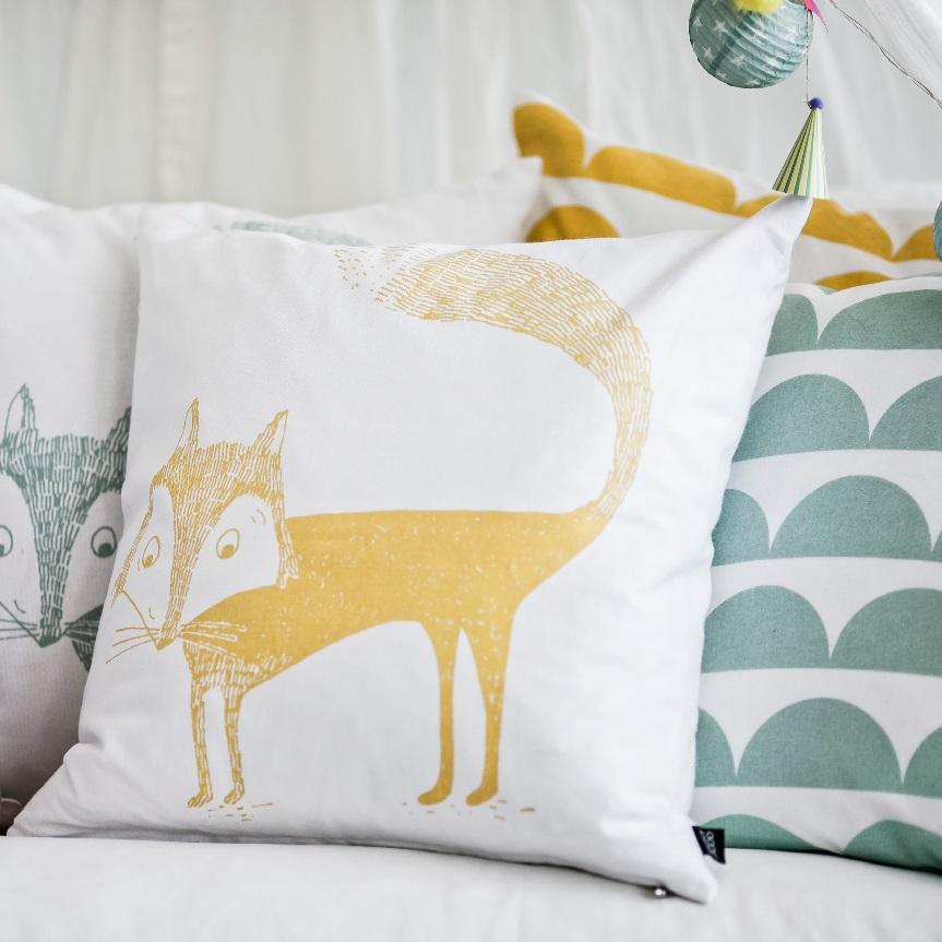 yellow-fox-cushion