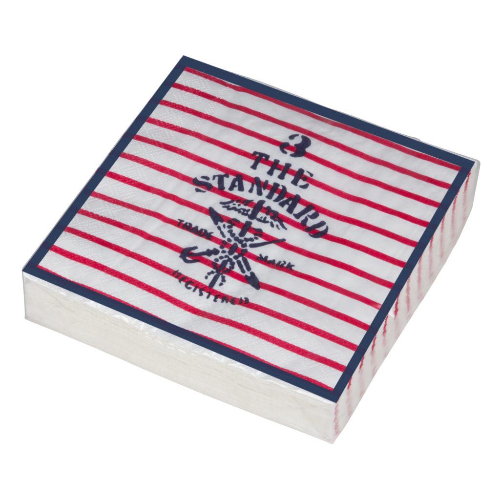 4373187491 Sailmaker, napkin, white_red