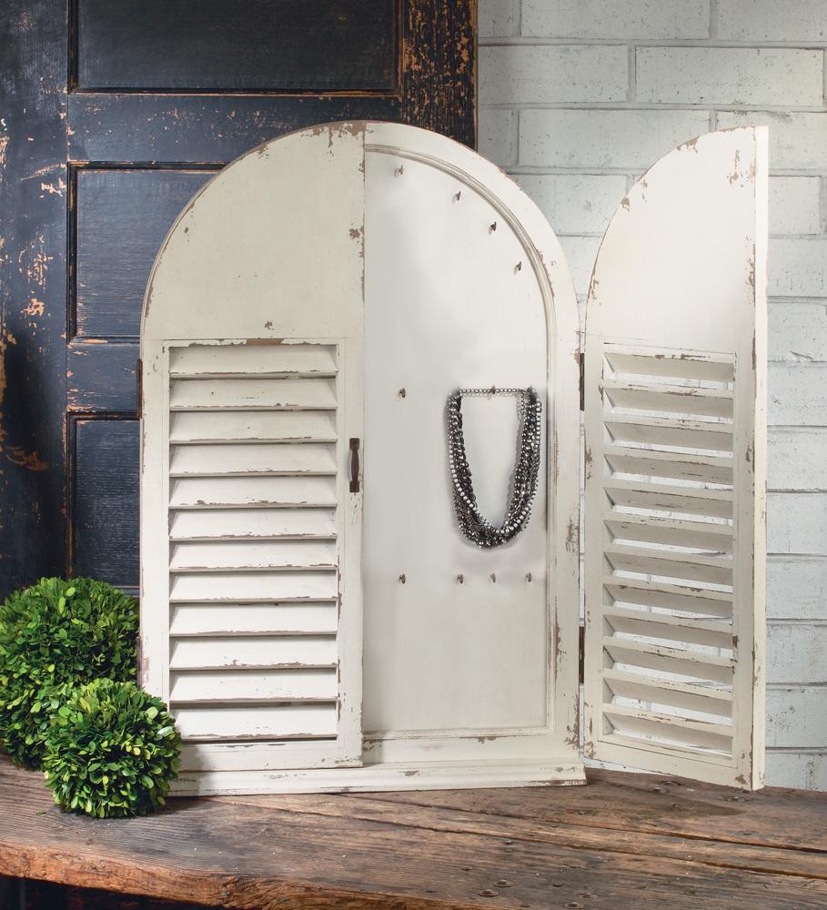 shutter wall cabinet
