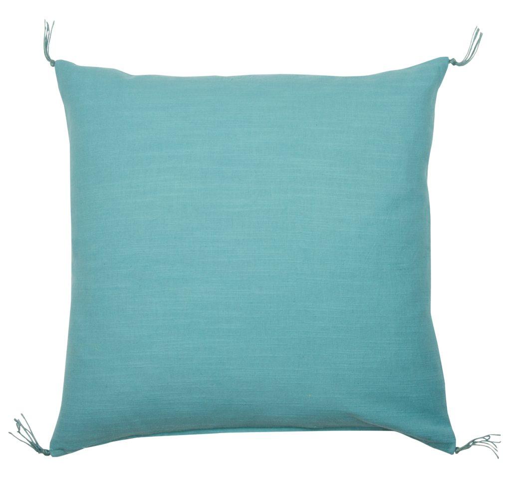 0122196653 Capetown Q, cushion, turquoise sm