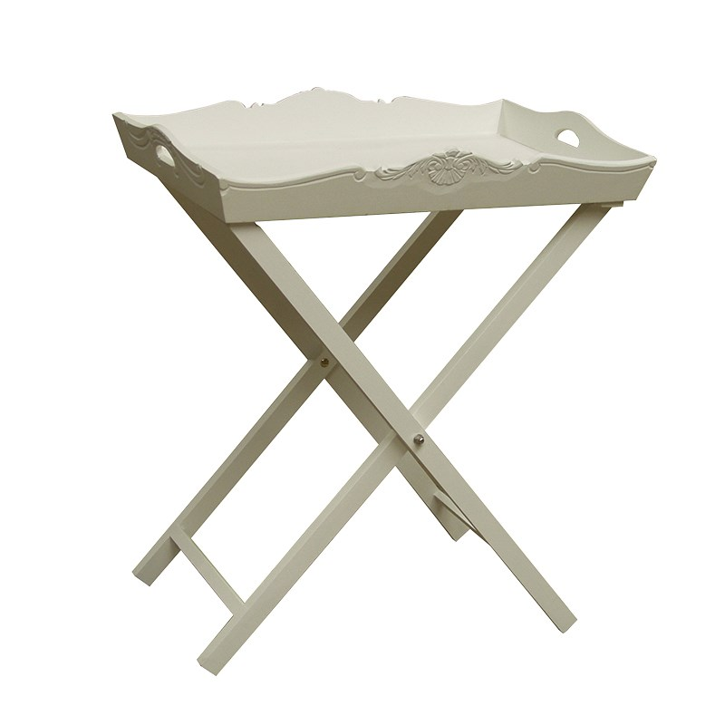 JC006-white-painted-tray-with-stand