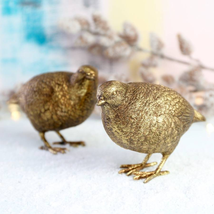gold-partridge-christmas-ornament