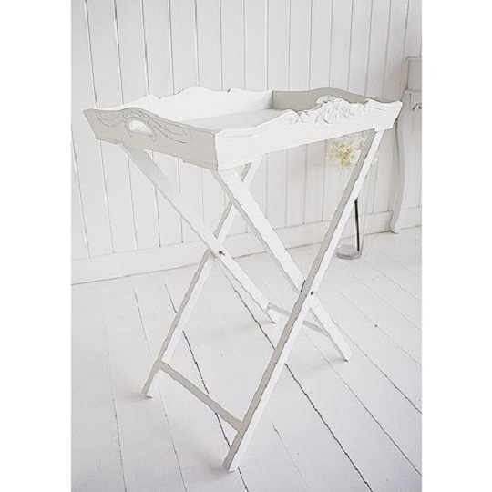 white-painted-furniture-tray-table