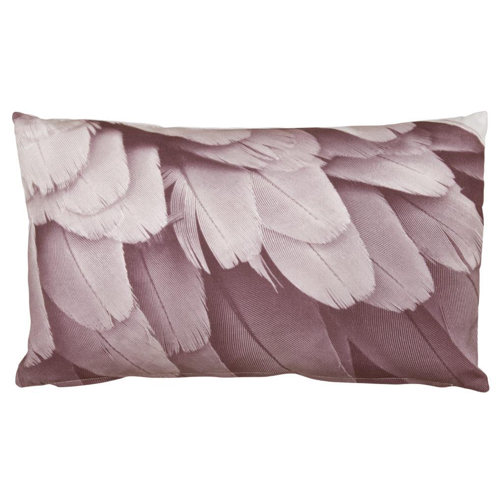 0119190411 Flamingo, cushion, pink