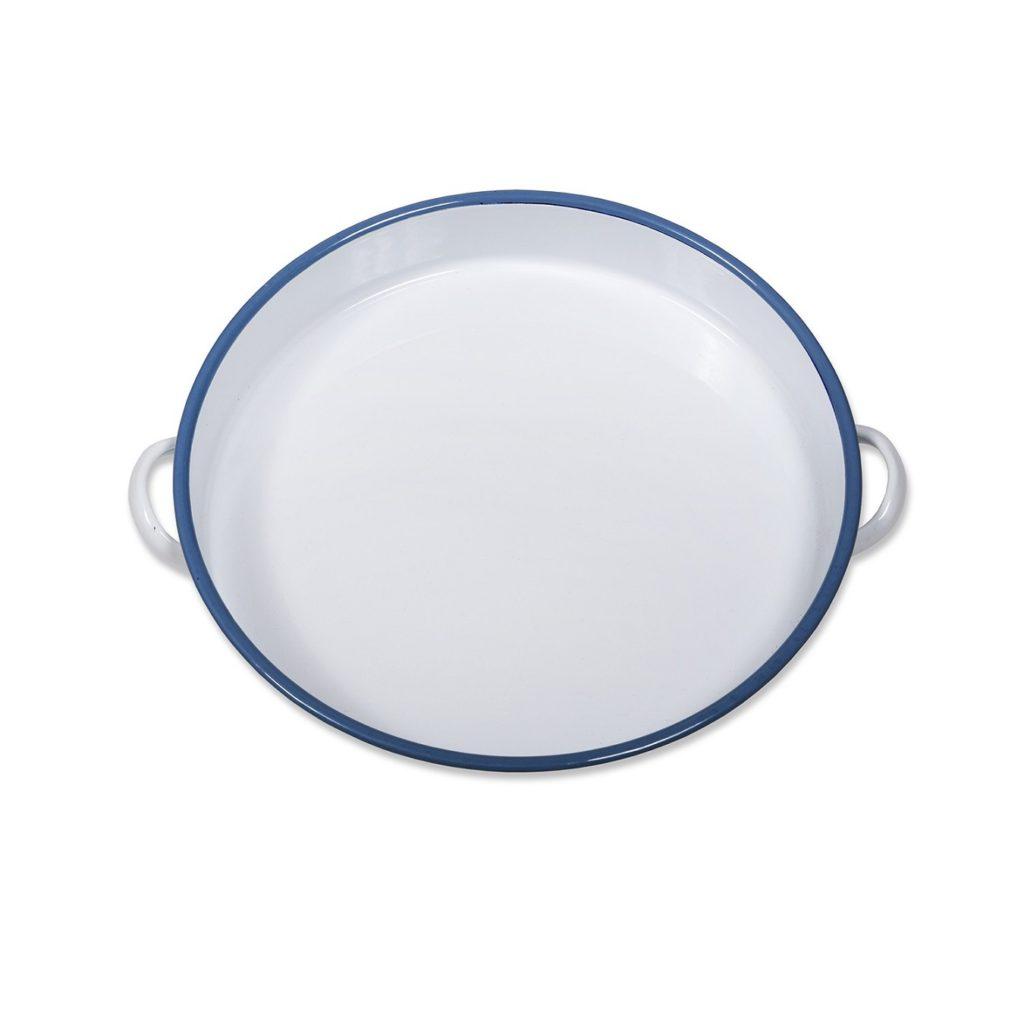 Enamel-Tray-White-Blue