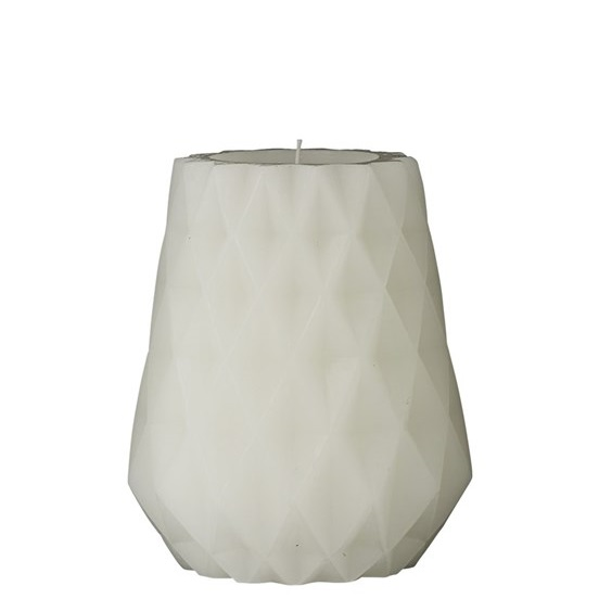 candle-carved-white-candle-12-cm-diamond