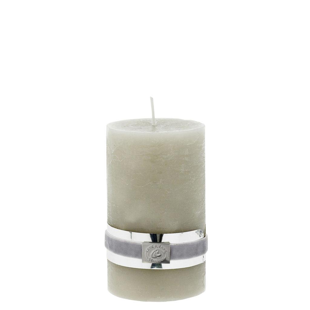 rustic-silver-grey-candle-12-5-cm