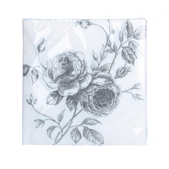 silver-roses-napkins