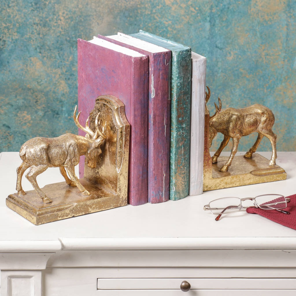 stag-bookends