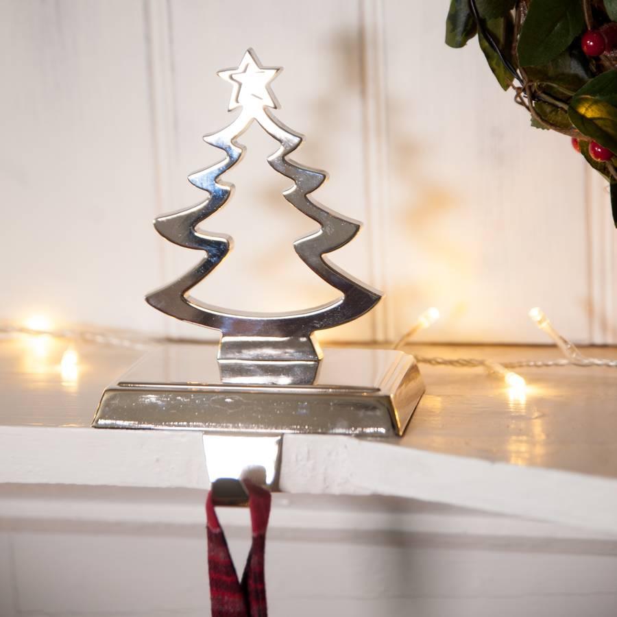 Christmas tree metal stocking hanger tutti decor ltd