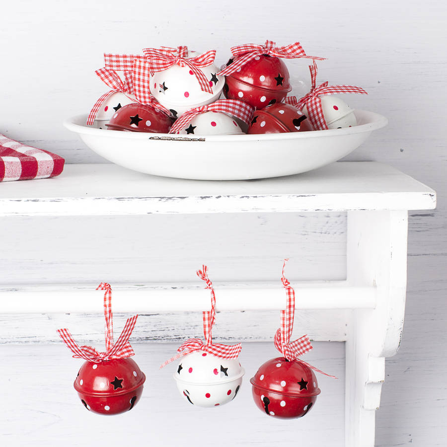 Christmas Bell Decorations Set - Tutti Decor Ltd