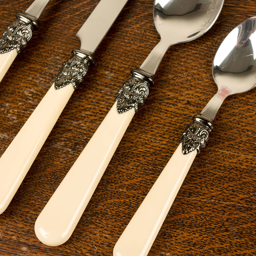 French Antique Cutlery Set