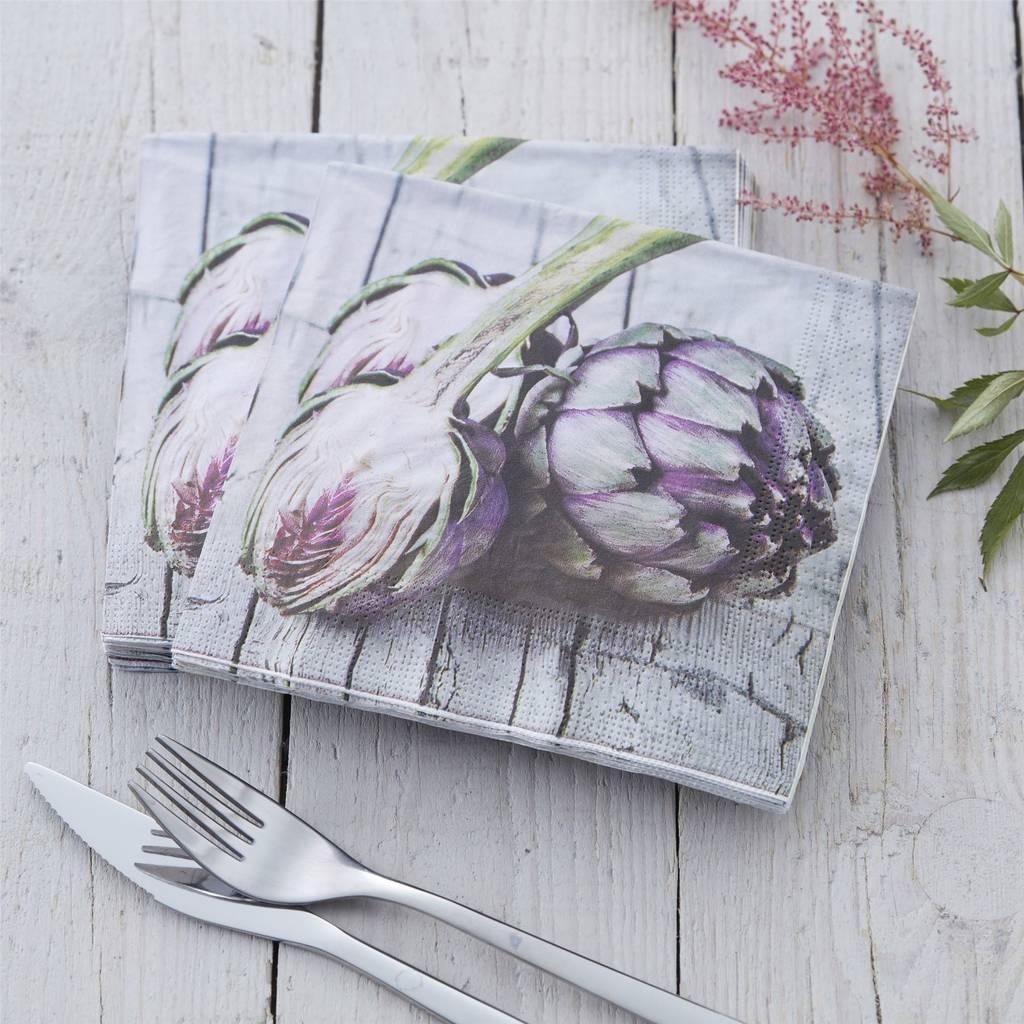 artichoke-napkins