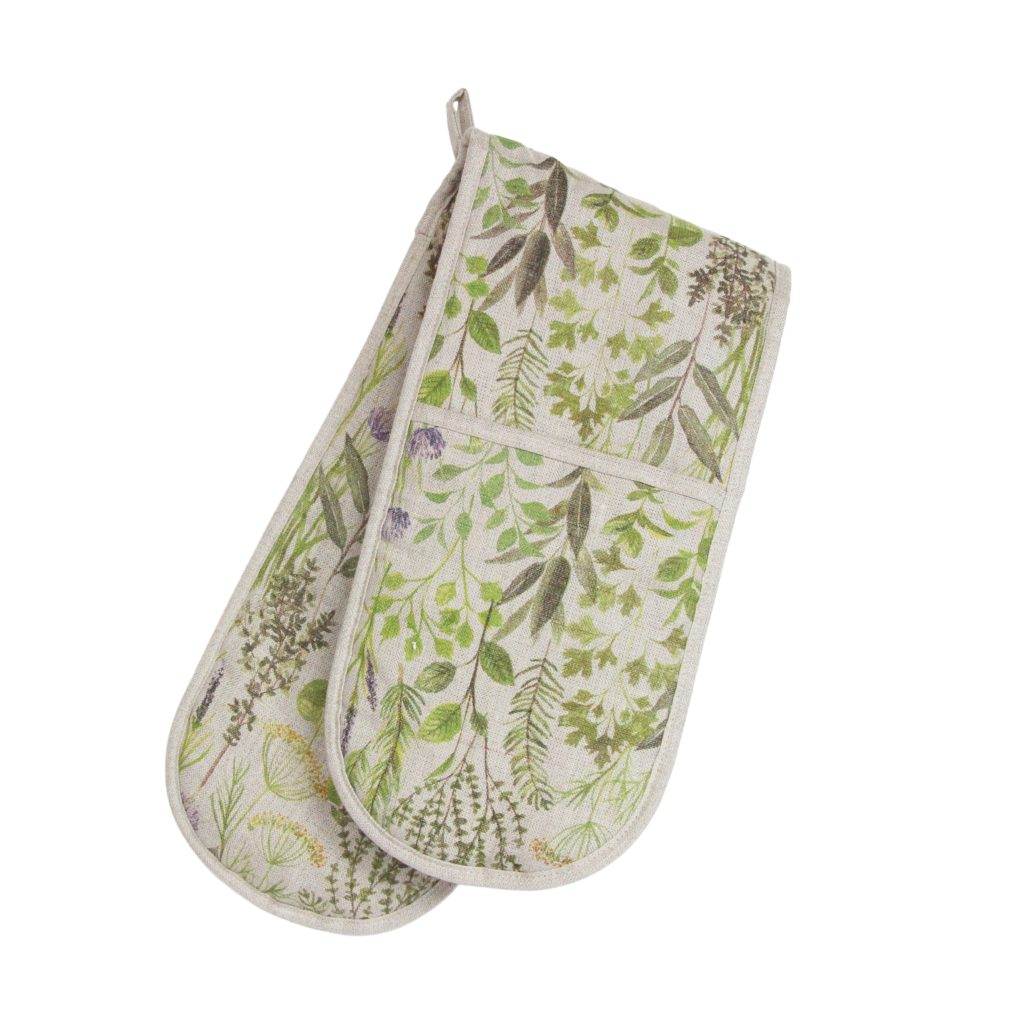 30529-double-oven-glove-gisela-graham-herb-garden