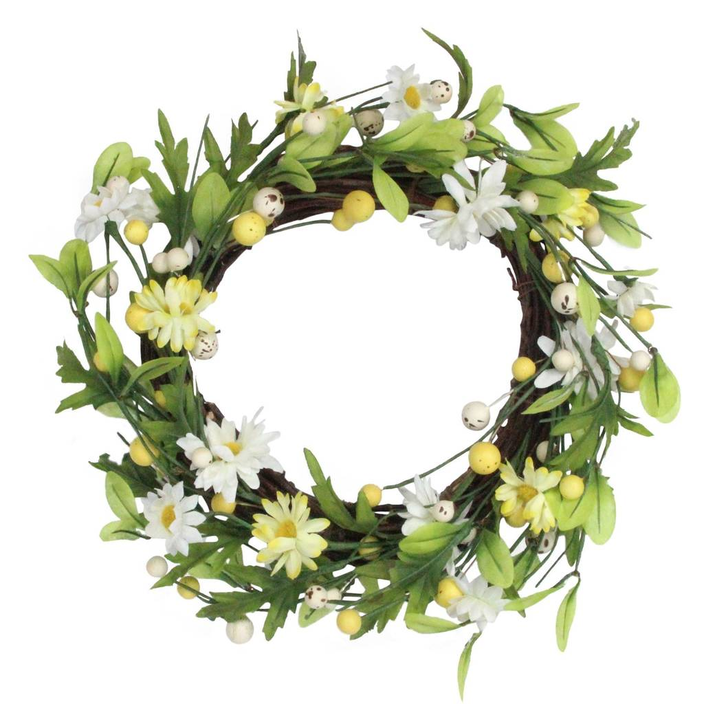 gisela-graham-daisy-and-twig-door-wreath