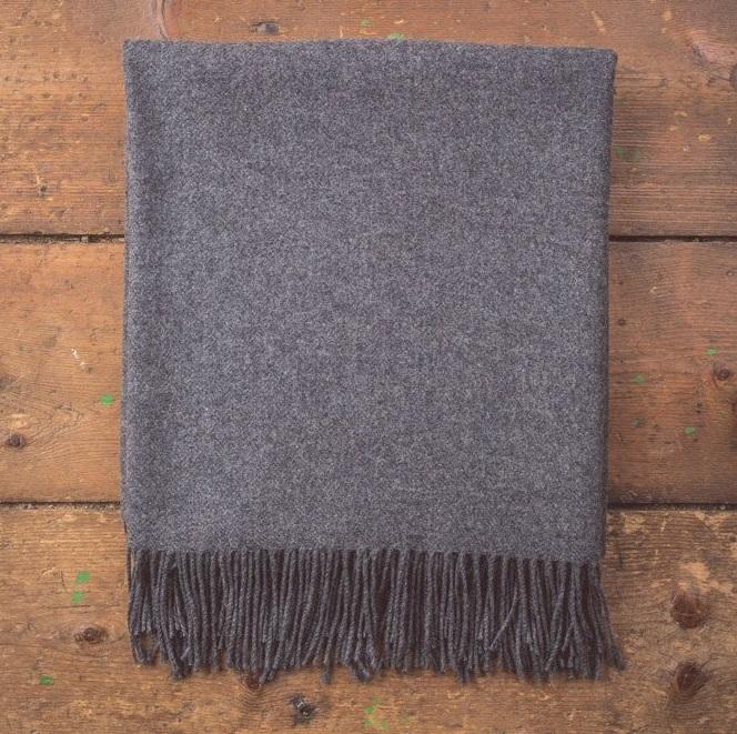 oxford-solid-throw-lamswool-foxford-grey