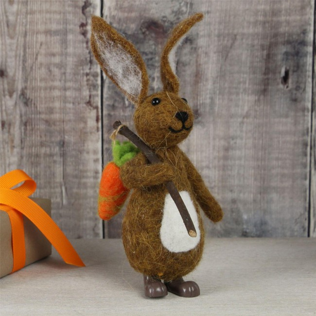 brown-wool-felted-bunny-easter-decoration