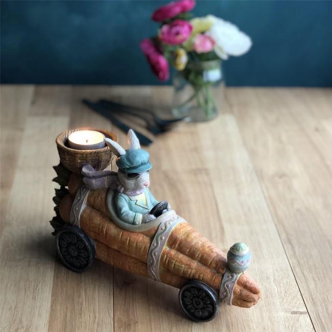 easter-car-bunny-tea-light