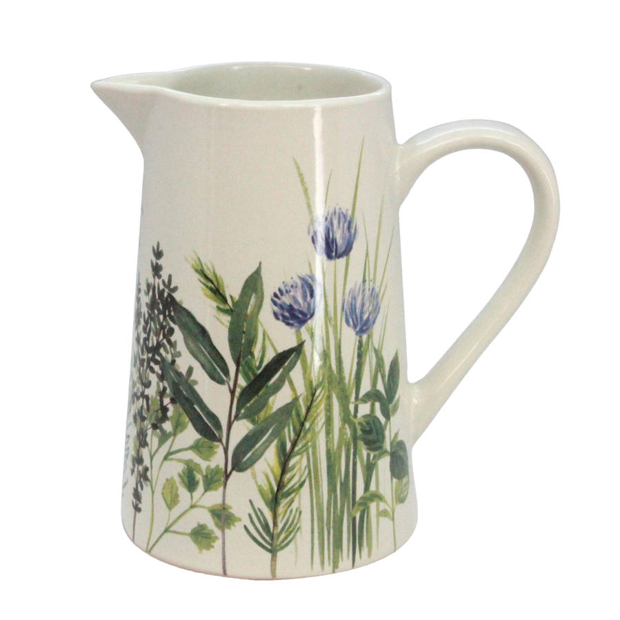 handpainted-herb-garden-jug-large