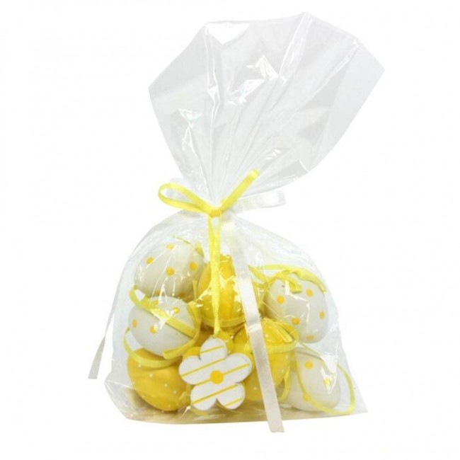 yellow-white-easter-egg-decorations-bag