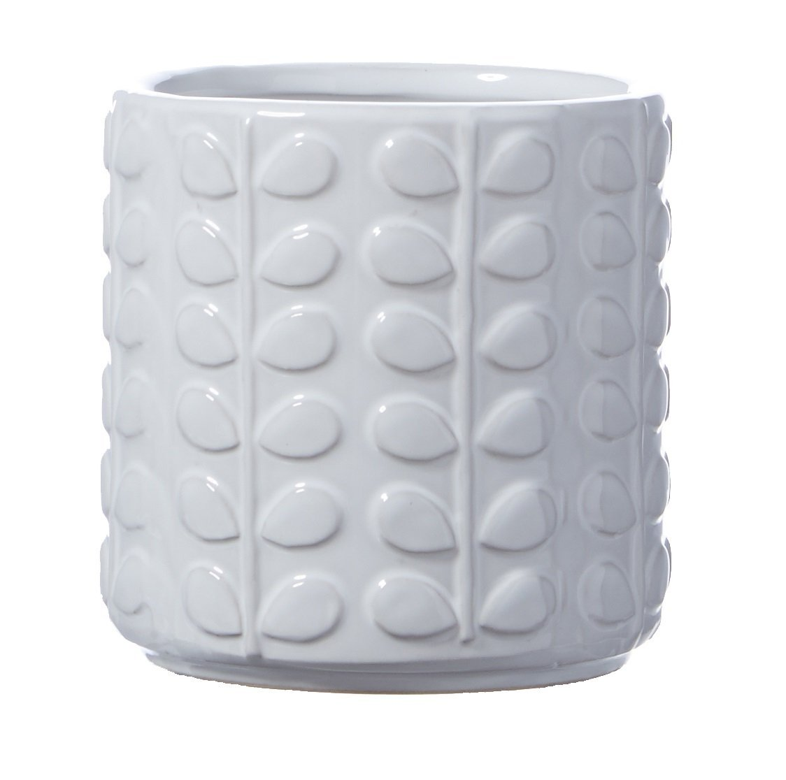 Orla White Ceramic Plant Pot Planter Tutti Decor Ltd