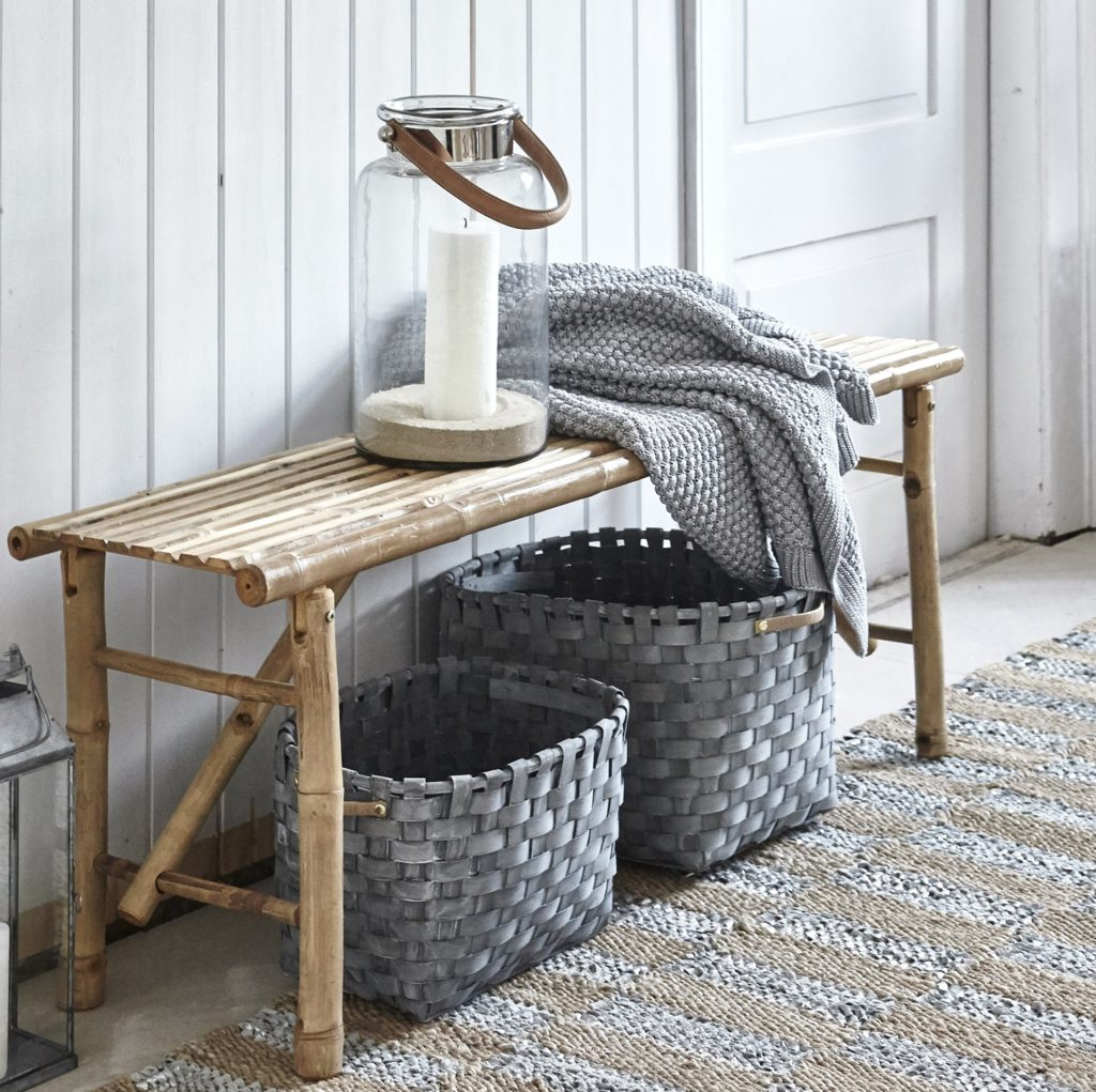 grey basket set elma