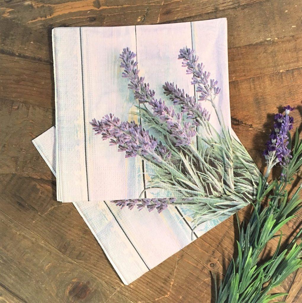 lavender-napkins