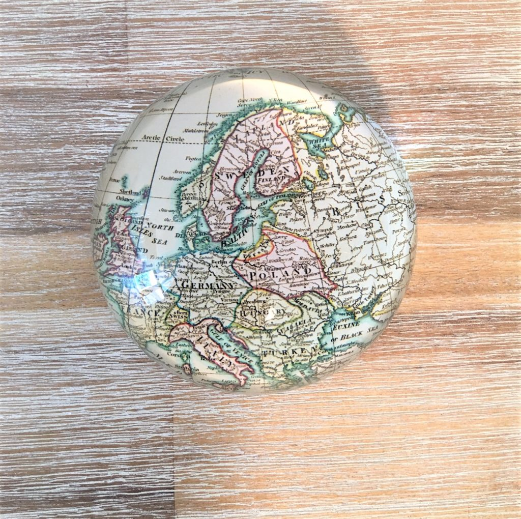 map-paperweight-original