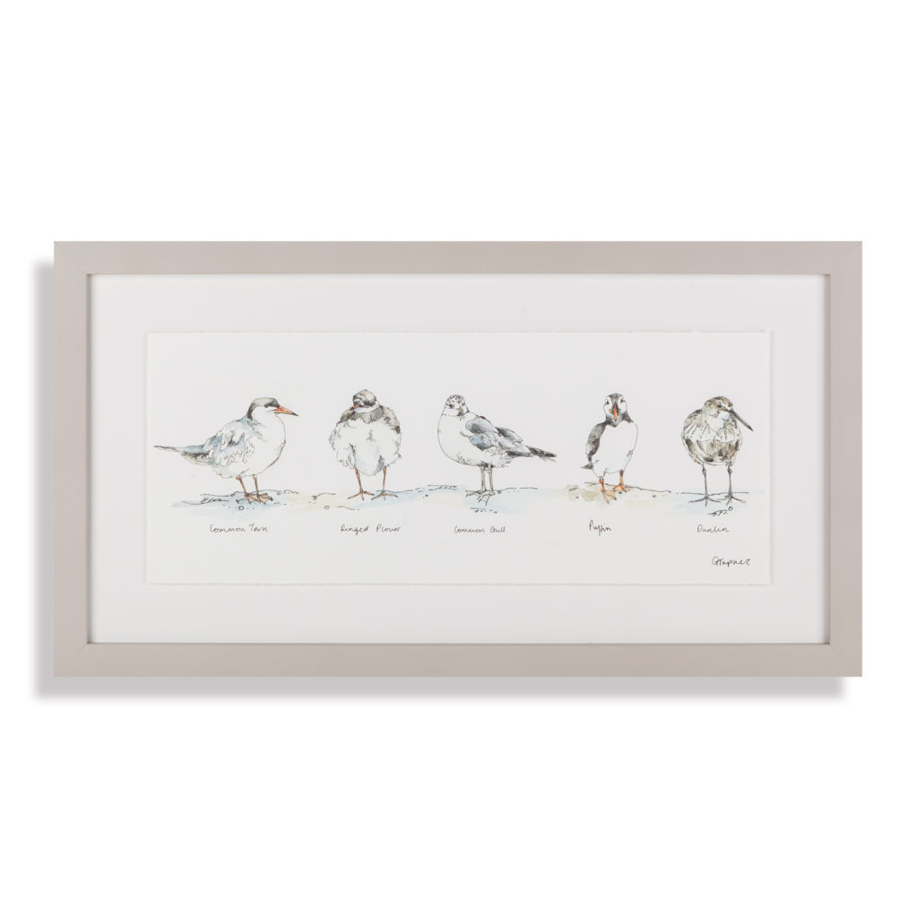 seaside-companions-framed-picture