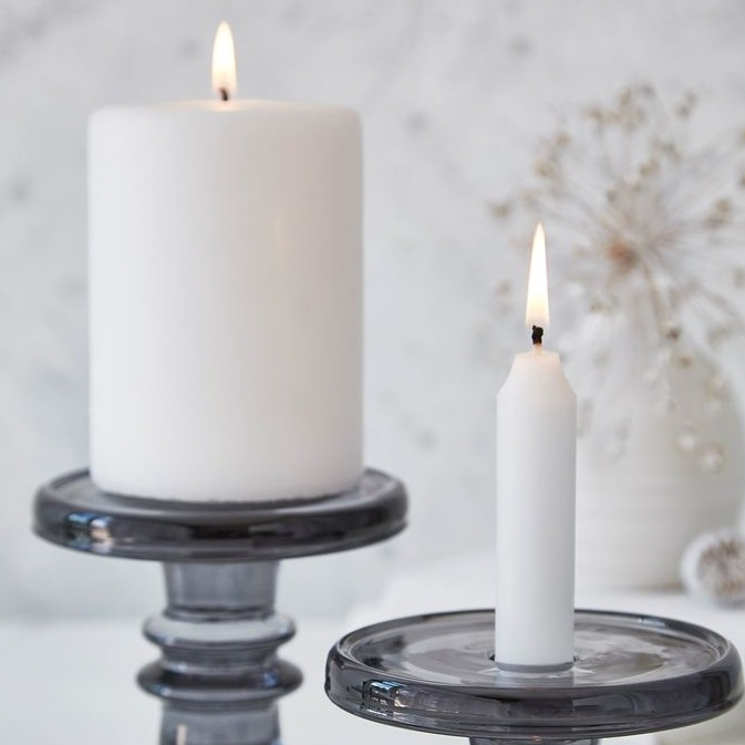 grey-glass-candle-holders