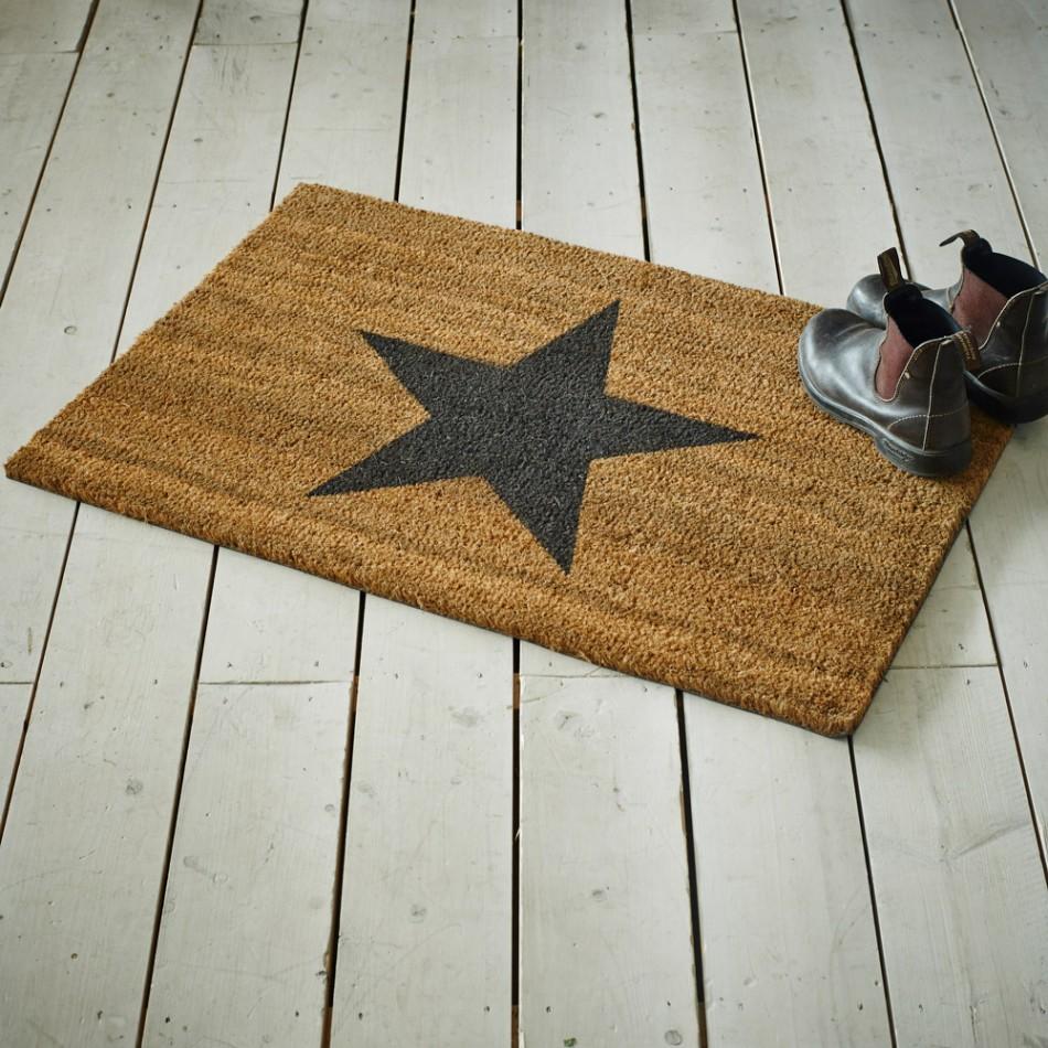 Decorating coir door mats pics : Star Coir Doormat - Tutti Decor Ltd