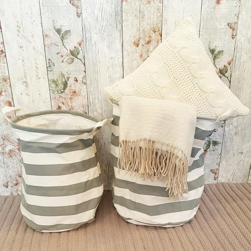 grey-stripe-round-storage-tubs-laundry